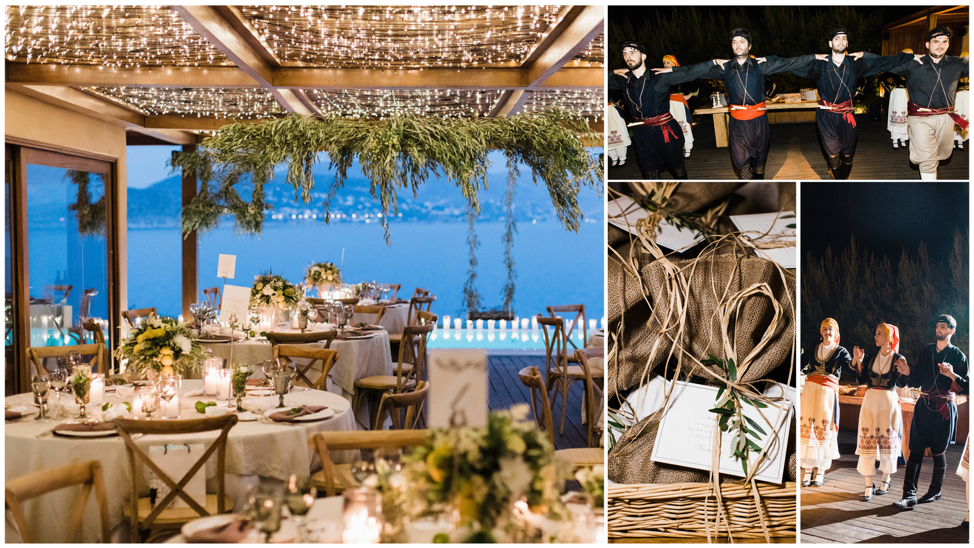 Whimsical olive themed wedding in the Athenian Riviera | MBW Events